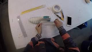 HOW TO TAPE UP LASTS: Brooklyn Shoe Space Pattern making basics