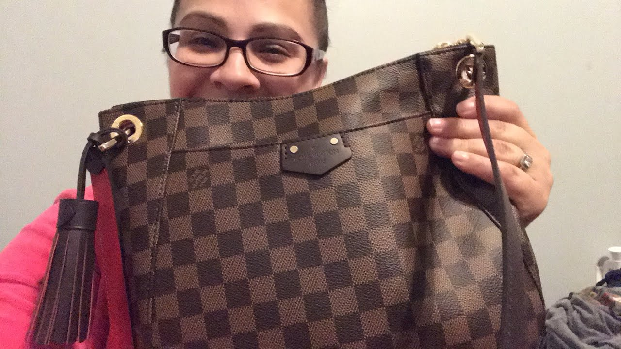fe3d369e03cc Louis Vuitton south bank besace update - YouTube