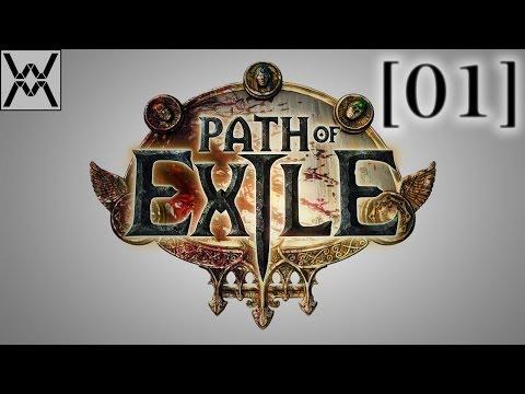 Path of Exile - прохождение/гайд [01] - Создание персонажа и первый сайдквест.