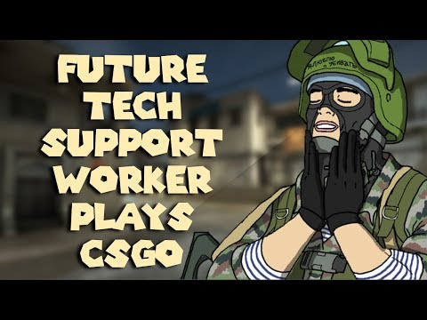 CSGO LIVESTREAM: QUITTING MY TECH SUPPORT JOB TO GO PRO IN CSGO