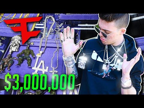 $3,000,000 in JEWELRY at the FaZe House...