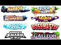 🌊 ALL OCEANS SEAS AND SIDE MAPS (HUNGRY SHARK WORLD)