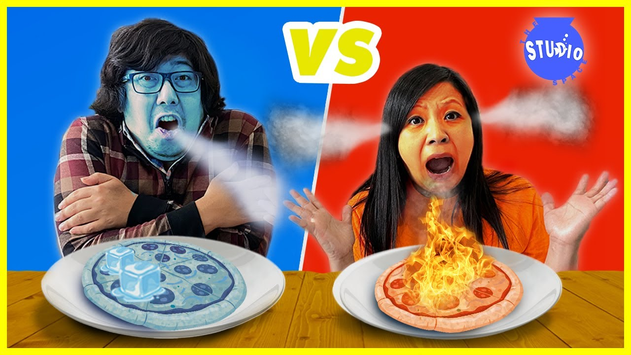 Hot Food VS Cold Food CHALLENGE!!