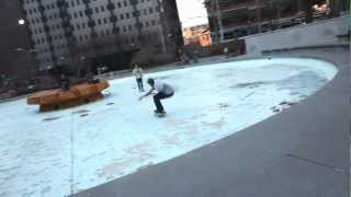 Skateboarding at JFK Plaza - Philadelphia, PA