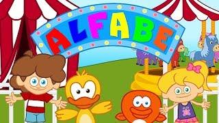 ABC ALFABE Sevimli Dostlar Eğitici Çizgi Film Çocuk Şarkıları Videoları