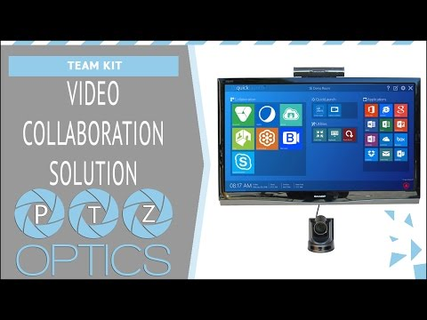 PTZOptics Video Conferencing Solution - Team Kit - PT-TEAM-VCS