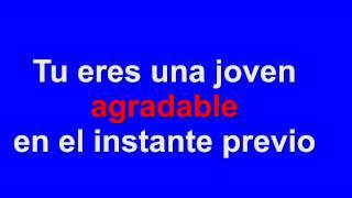 karaoke Persiana Americana Agapornis
