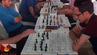 18. Uluslar arası Türk Daması Şampiyonası. 9 tur. 1- 4 masalar.