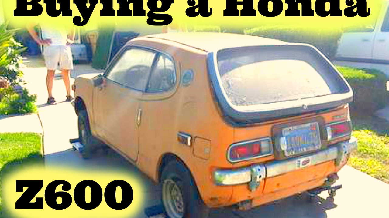 Ing A 1972 Honda Z600 Coupe Boy