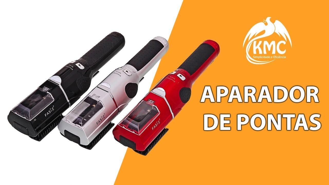 14c87b89a Aparador De Pontas Duplas Escova Fasiz Profissional Bivolt - YouTube