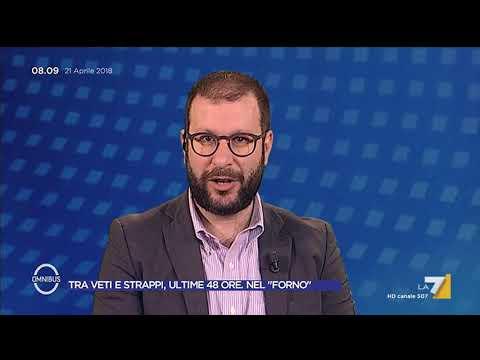 """Omnibus - Tra veti e strappi, ultime 48 ore. Nel """"forno"""" (Puntata 21/04/2018)"""