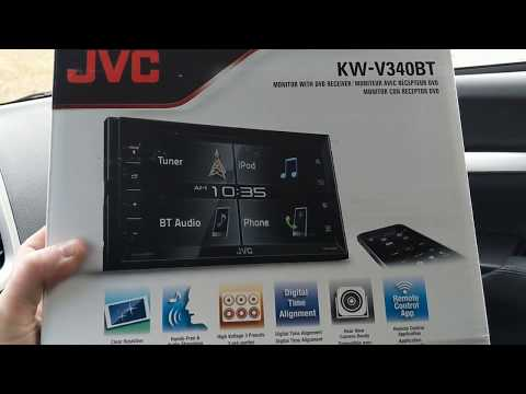 Virtual Volume Knob! JVC KW-V340BT