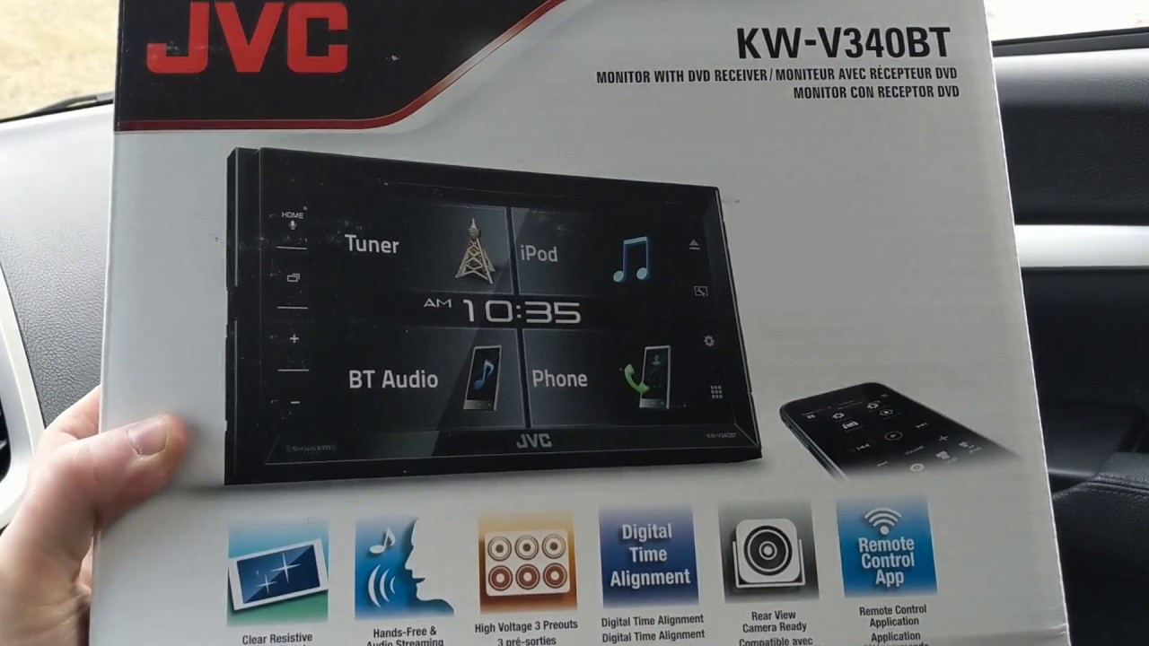Virtual Volume Knob Jvc Kw V340bt Youtube Wiring Diagram