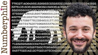 The Archimedes Number - Numberphile