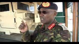 Kenyan Army commander visits U.S. Army Africa headquarters