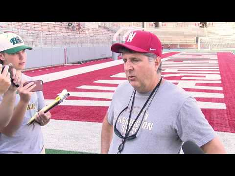 WSU Football: Mike Leach/Highlights After Fall Camp 8/2
