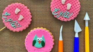 şeker hamuru kurabiye nasıl yapılır - bebek kurabiyesi nasıl yapılır - butik kurabiye