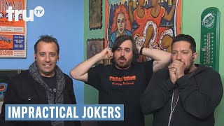 Impractical Jokers - Sideshow Freak Gets Knifed (Punishment) | truTV