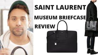 Mens Saint Laurent Bag Review // Saint Laurent Museum Briefcase