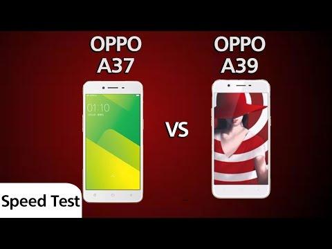 Oppo A37 Vs Oppo A39 - Speed Test