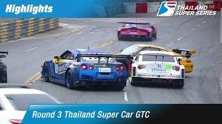 [TH] Highlights Thailand Super Car GTC : Round 3 @Bangsaen Street Circuit,Chonburi