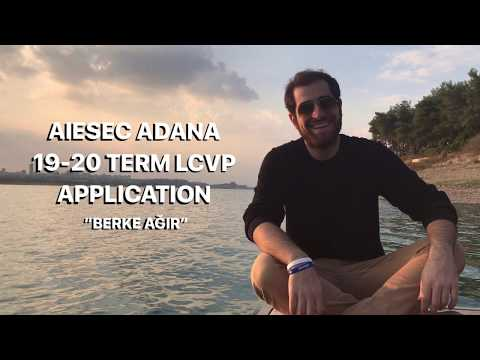 Berke AĞIR - AIESEC ADANA 19-20 term LCVP application