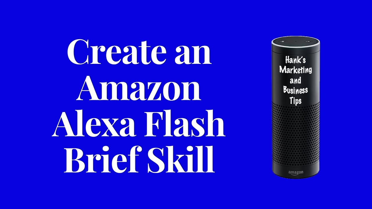 How to Submit an Amazon Alexa Flash Brief Skill