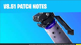 Fortnite 8.51 PATCH NOTES: Shadow Bombs