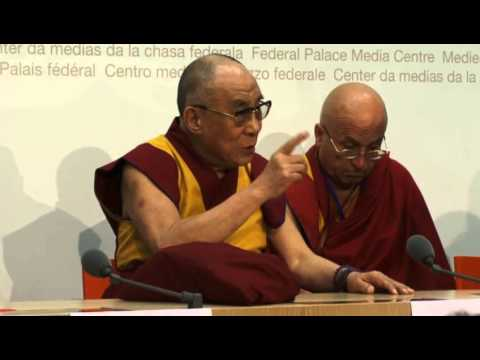 Meet the Press with His Holiness the Dalai Lama, Berne Swiss. 16/04/2013