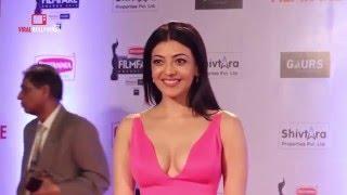 vuclip HOT Kajal Agarwal Spotted At 61st Filmfare Awards 2016 | Do Lafzon Ki Kahani Movie Actress