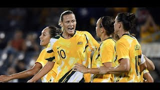 AFC Women's Olympic Qualifying Tournament: Thailand 0 - 6 Australia : Highlights