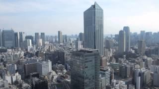 霞が関ビル 35F 東海大学校友会館 レストランKEYAKI(けやき)からの眺め