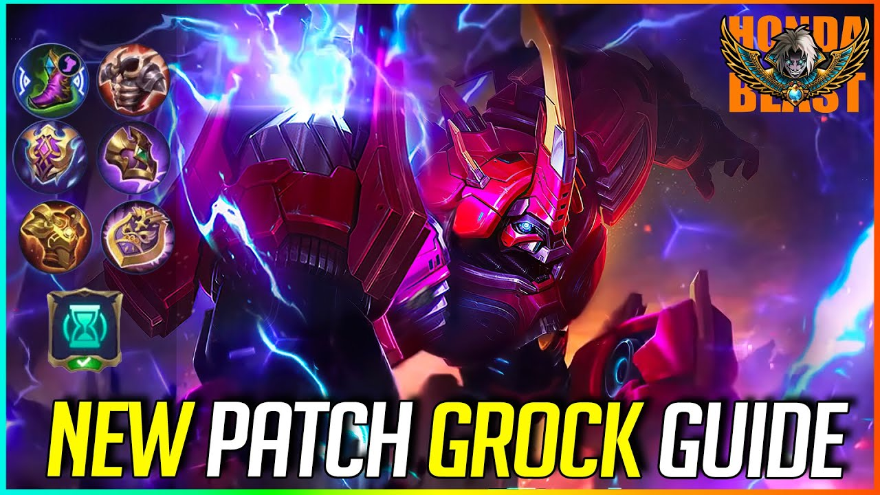 NEW PATCH GROCK GUIDE | MLBB