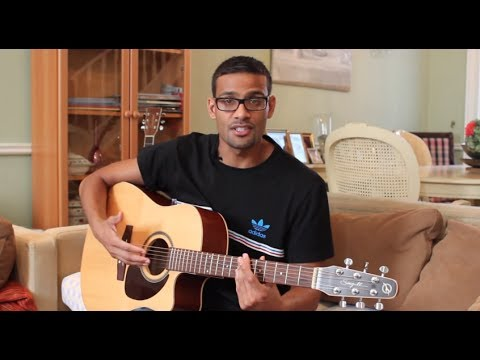 Royals Guitar Tutorial - Lorde - With Jazzy Bar Chords - YouTube