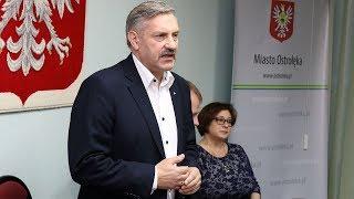 Przewodniczący RM Jerzy Grabowski na podsumowanie OKLA