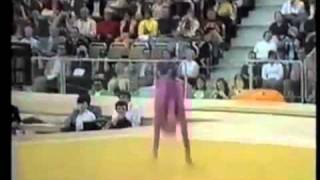1972 Olympics: Karin Janz (GDR) Floor