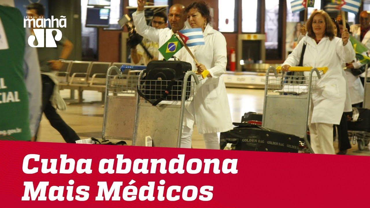 Bolsonaro diz que Cuba não aceitou condições para seguir no Mais Médicos