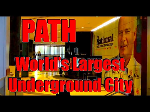 World's Largest Underground City 🇨🇦 PATH