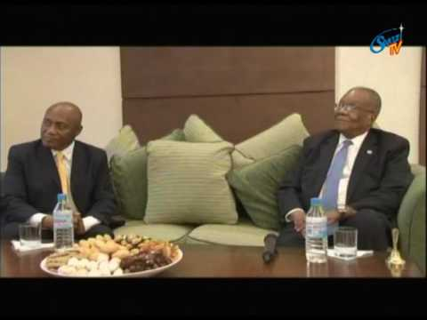The Prime Minister met the minister of tourism in Equitorial Guinea