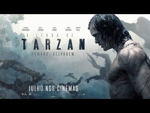 A Lenda de Tarzan - Trailer Oficial 2 (leg) [HD]