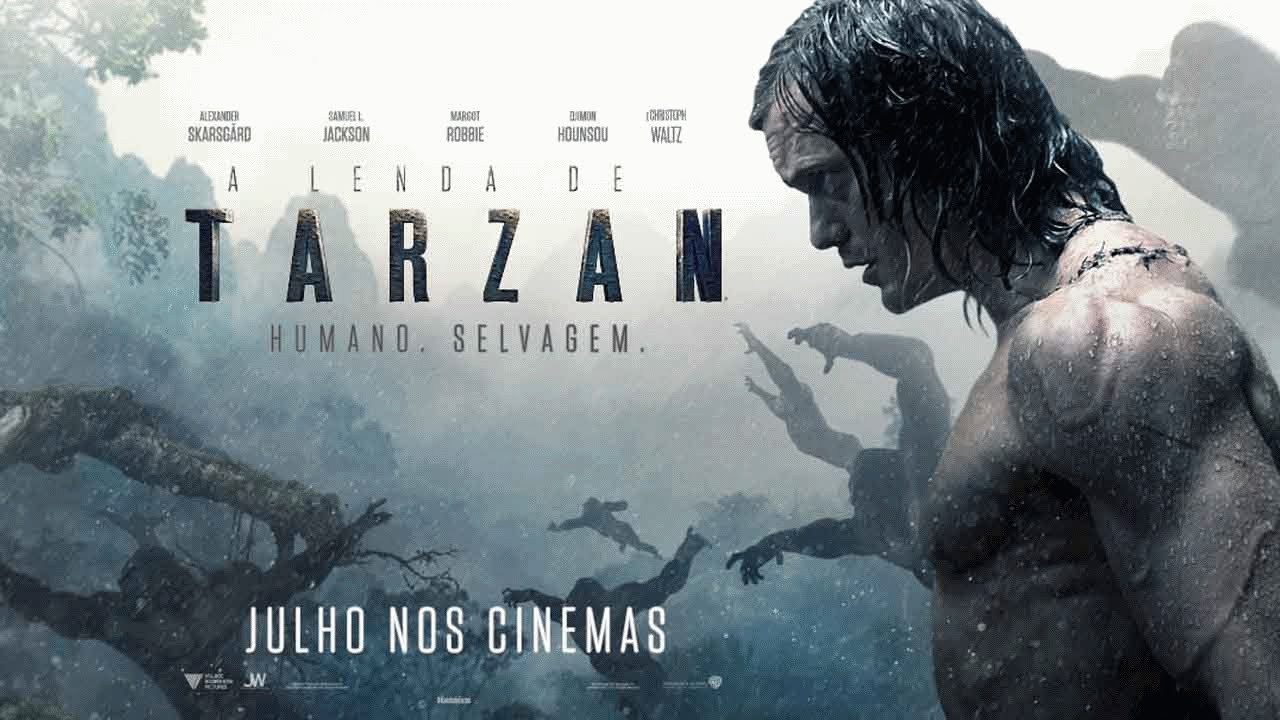 A Lenda de Tarzan - Trailer Oficial 2 (leg) [HD] - YouTube