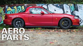 Mazda MX5 Build: Front Lip and Side Splitters Installation