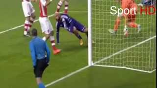 Anthony Vanden Borre - Goal  ( Arsenal - Anderlecht )