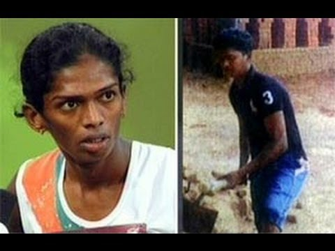 Asian Games athlete Santhi now a labourer-2