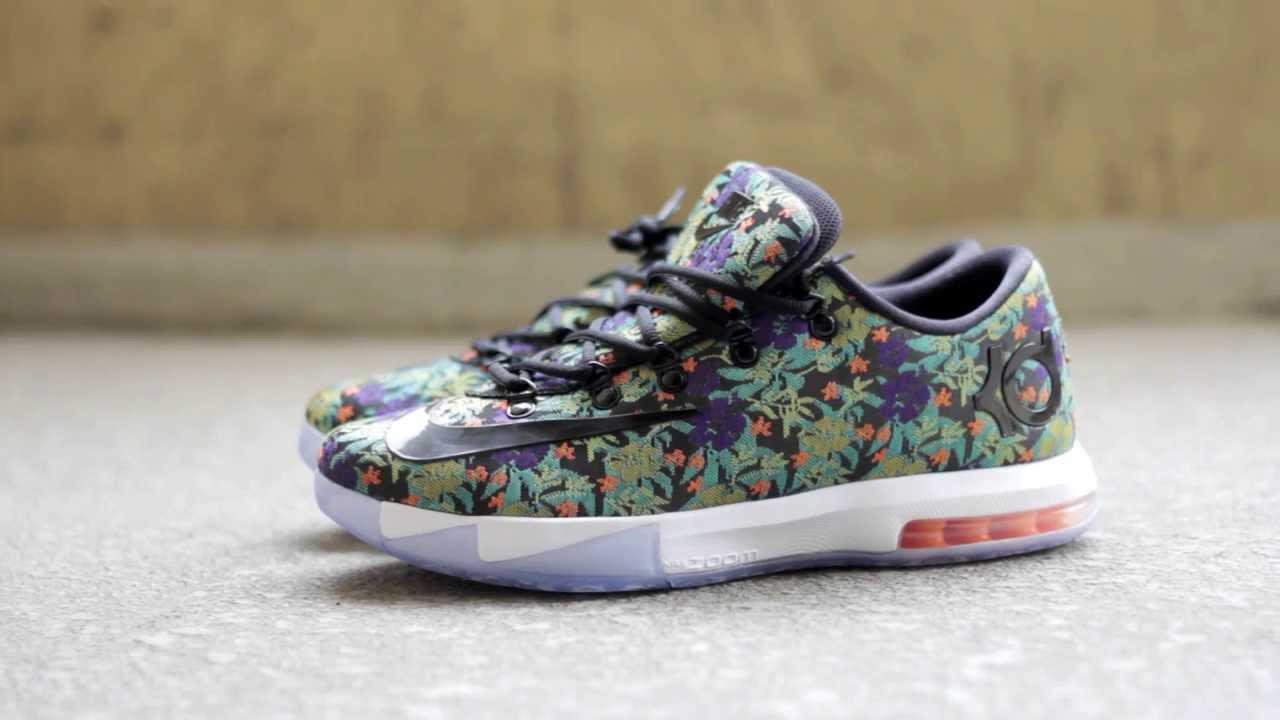 b2da2a04b38b30 Buy Nike KD 6 Cheap sale EXT Floral