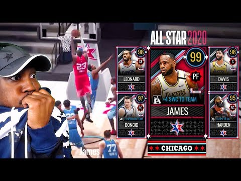 DOMINATING With TEAM LEBRON In ALL-STAR Game! NBA Live Mobile 20 Season 4 Gameplay Ep. 36