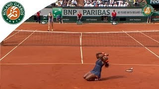 Serena Williams v Maria Sharapova Highlights - Women
