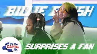 Billie Eilish Surprises Her Biggest Fan 💚 | Capital