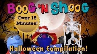 Halloween Compilation of Songs for Kids Boog n Shoog Trick or Treat