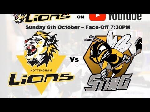 Nottingham Lions V Sutton Sting LIVE